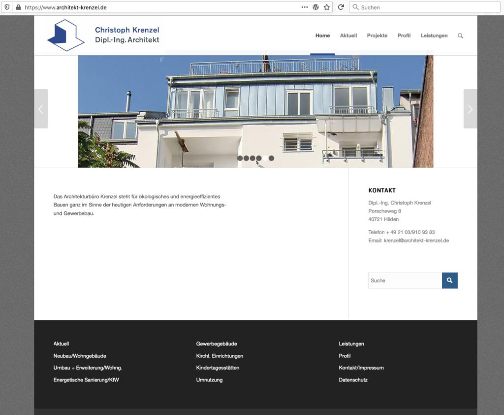 Website-Abb. Architekturbüro